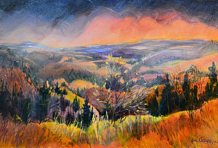 Painting The Ontario Landscape A Champagne Tribute To Canadiana Saugeen Times